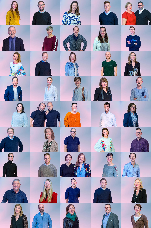 50 visages d'indépendants